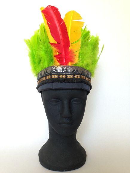 Cocar Xingú 02 #tiara     #arco     #flores     carnaval     #adereço     #folia   #carnaval  #tiara de carnaval     #arco de carnaval     #cocar #cocar_de_indio #bloco_carnaval     _#escola_ de_samba     #acessoriodecarnaval     #headband     #fantasia     #arranjo_de_cabelo     #enfeitedecabelo     #brilhante     #bloco_de_rua     #baile_de_ carnaval     #cocar #cocar-de-indio 3xingù