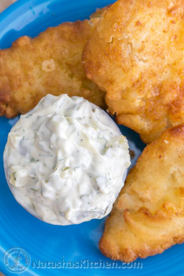 Try this quick and easy tartar sauce recipe and you'll never want store-bought again! | NatashasKitchen.com
