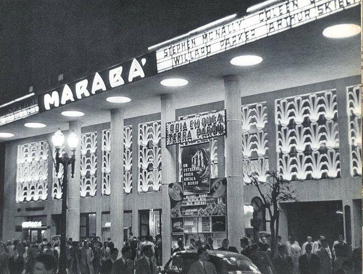 Cine Marabá, inaugurado em 20 de maio de 1944, em uma época de grande efervescência do cinema na cidade, notadamente na região central, entre as avenidas São João e Ipiranga - em uma área que ficaria conhecida como Cinelândia Paulistana.