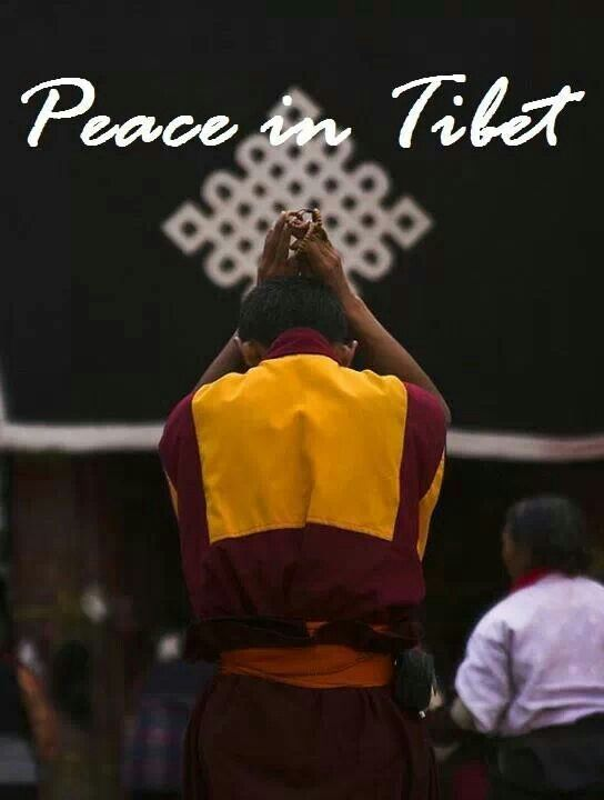 Tibet - Paix au Tibet -