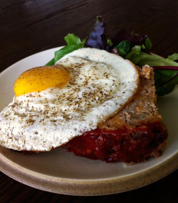 Chipotle Meatloaf with Egg | Cravings | Pinterest