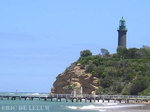 2003-12-25 002 Black Lighthouse, Fort Queenscliff, Victoria, Australia