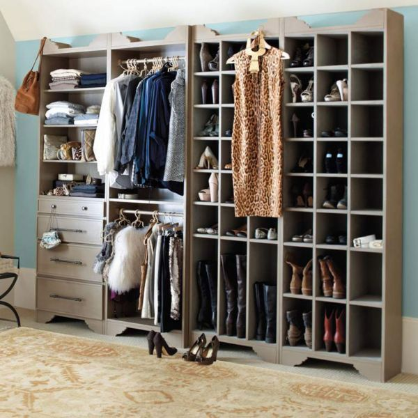 storage tower shoe boot walk in closet