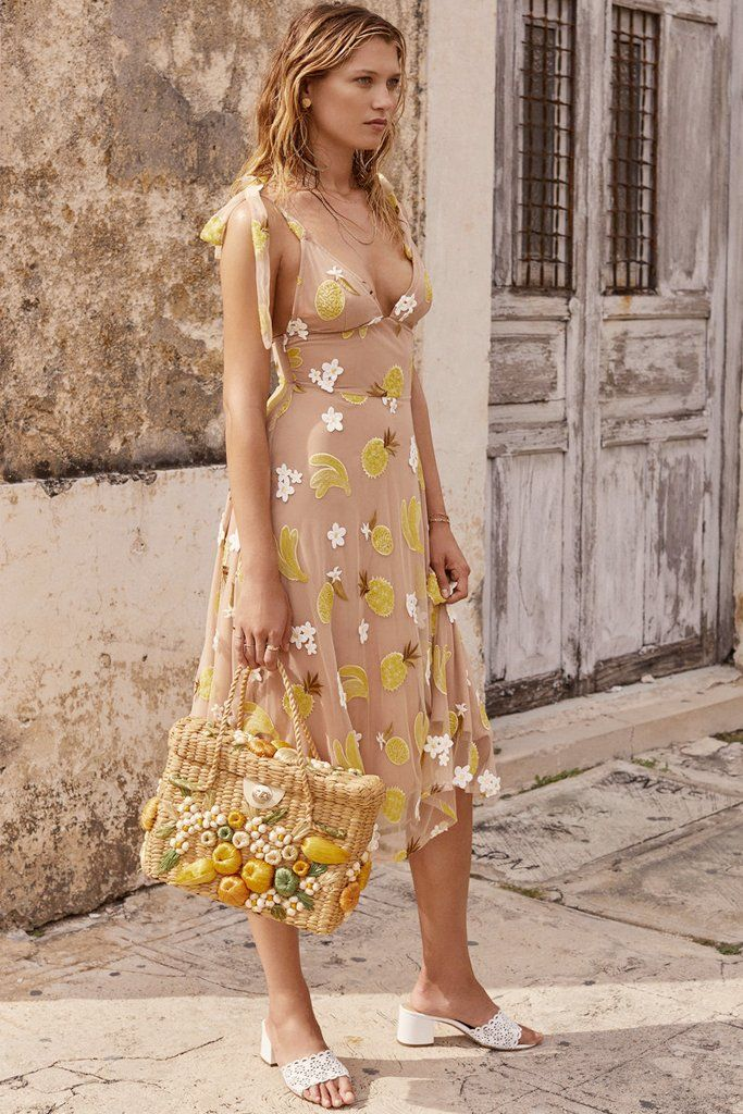 56bc60dd7df0 For Love and Lemons SS 2018 - Fruit Punch Mini Dress - Rents for $80 for 4  days