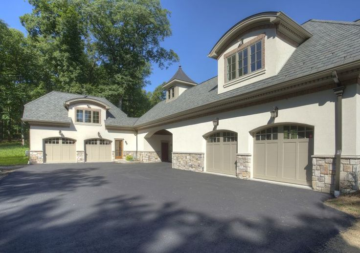 Best Traditional Garage With Supreme Estate Gray 3 Tab Shingles 400 x 300