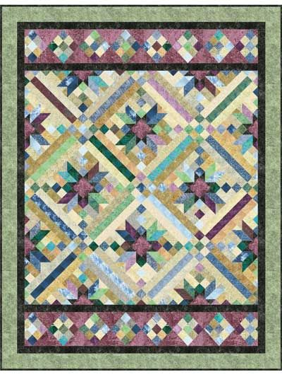 Smokey River Quilt Pattern Quilting Inspiration And