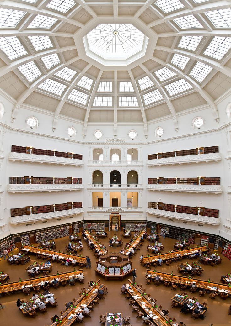 The Library Was Established In 1854 And Houses Over Two Million Books It Also Contains Original Armor Of Cultural Icon Ned Kelly