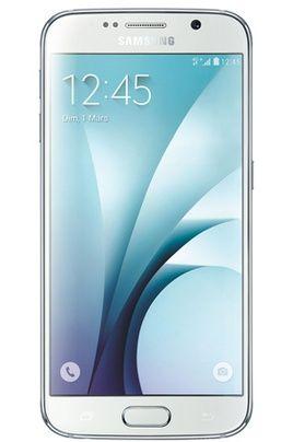 Mobile nu Samsung GALAXY S6 32GO Blanc Astral prix Smartphone Darty 709.90 € TTC