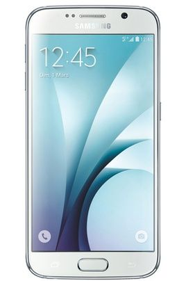 Mobile nu Samsung GALAXY S6 32GO Blanc Astral prix Smartphone Darty 709.90 € TTC.
