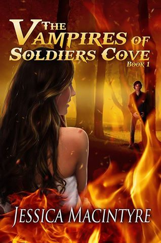 Brand new book cover for The Vampires of Soldiers Cove. :D