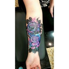 Unique Rose Tattoo by Ewa Sroka Warsaw, Poland ❤ liked on Polyvore featuring accessories and body art