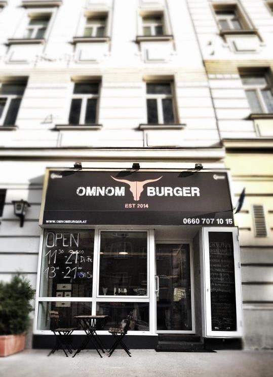 OMNOM BURGER LOKAL IN WIEN Wiedener Hauptstrasse