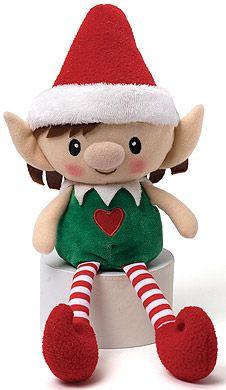 Christmas Teddy Bear Elf Doll And Elves On Pinterest