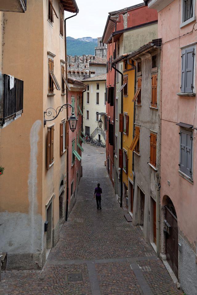 Gasse in Riva del Garda