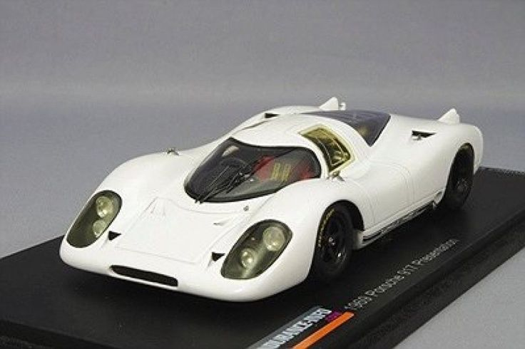 NEW Spark 1/43 Porsche 917 presentation 1969 White Catalog model JAPAN 1210 #Spark #2011