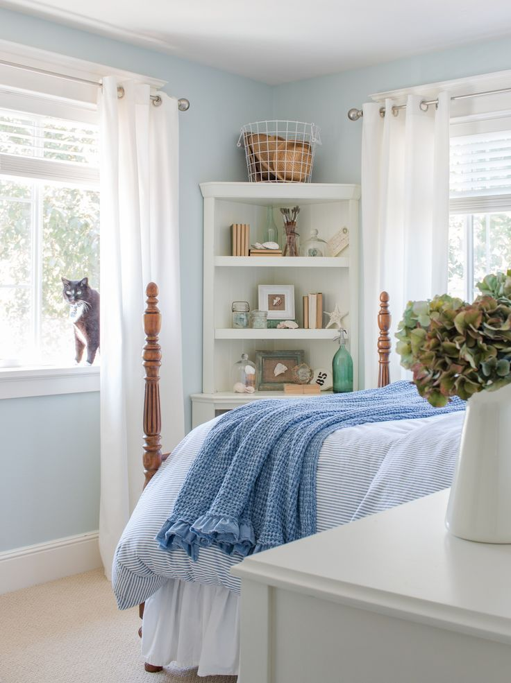 Coastal Bedroom: Calm Cool And Coastal Bedroom Retreat