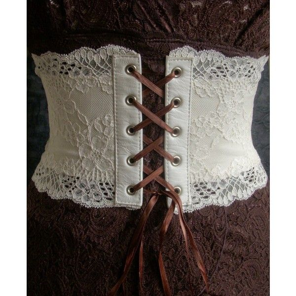Beautiful lace corset belt by kvodesign on Etsy (check out this shop!) #studiopaars