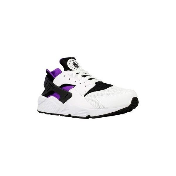 Nike Air Huarache Shoes (Trainers) ($230) ❤ liked on Polyvore featuring men's fashion, men's shoes, men's sneakers, men, shoes, trainers, white, mens sneakers, mens shoes and nike mens sneakers