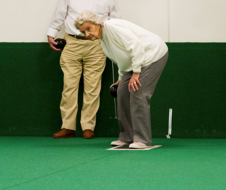A shot from Bowls Week at the Blind Veterans UK Brighton Centre  http://blindveterans.org.uk/