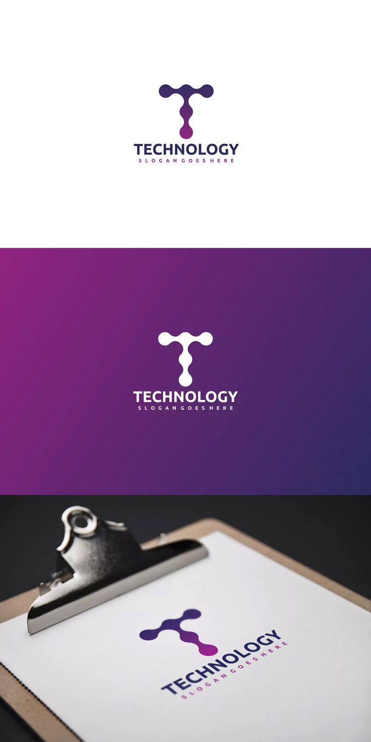 Technology-T Letter Logo Template AI, EPS