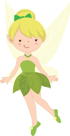 Cute Fairies-Cherry Clipart - Minus