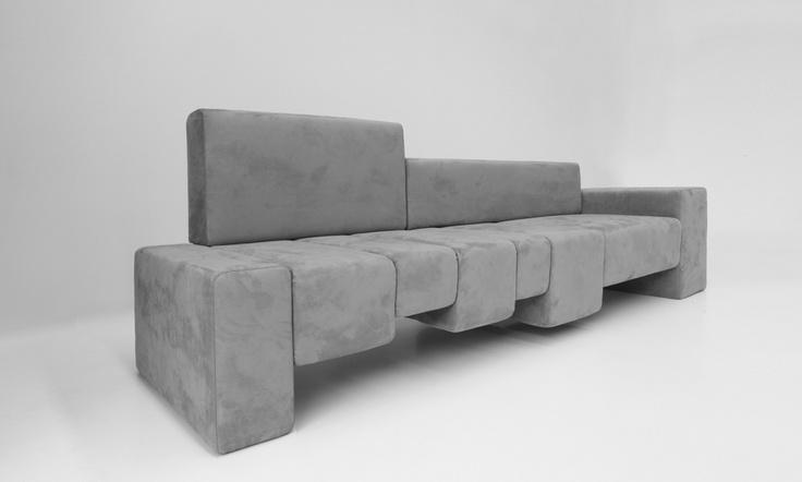 THE FIFTH AVENUE sofa- Design: Dima Loginoff - Photo Shooting: Davide Buscioni for Protocol #design #dimaloginoff