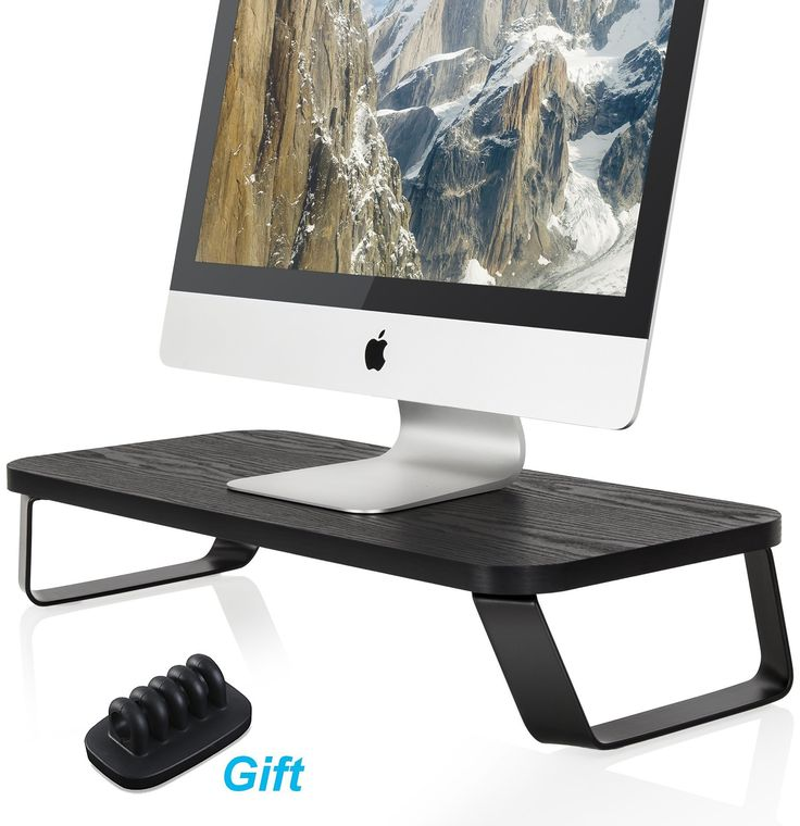 56 best computer monitor riser stand images on Pinterest | Monitor ...