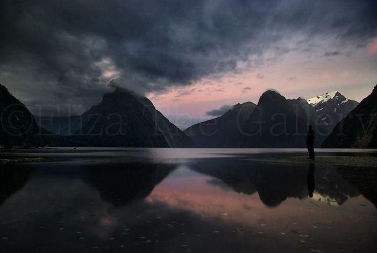 Atmospheric image of Milford Sound by one of Eliza's Scottish photographers Chris Jones