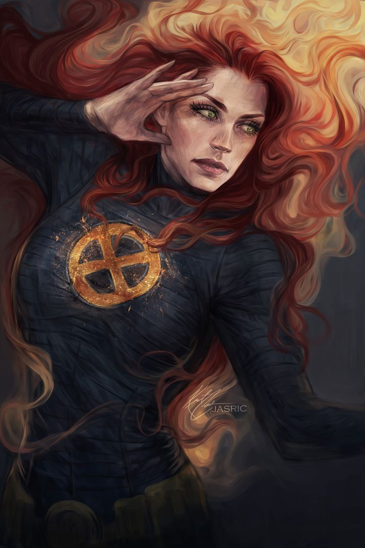 Jean Grey by Jasric                                                                                                                                                                                 Más