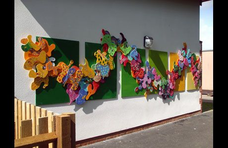 Inspirational S.E.N. Schools Inclusive Arts Projects Sculptures Mosaics Murals | No Added Sugar