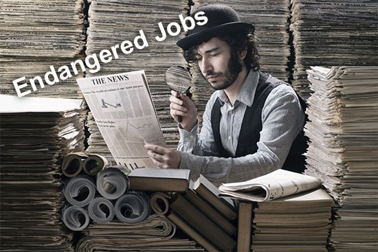 "Here's my latest column on ""101 Endangered Jobs by 2030."" If you've not heard the phrase ""technological unemployment,"" brace yourself; you'll be hearing it a lot over the coming years."