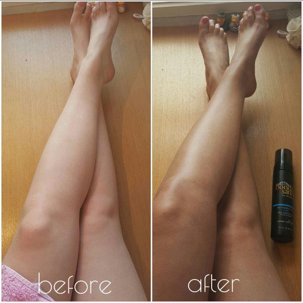 Fake Tan in 5 easy steps - using Bondi Sands Tan.