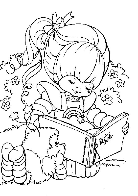 217 best images about Crafty (80's Rainbow Brite) Coloring on ...