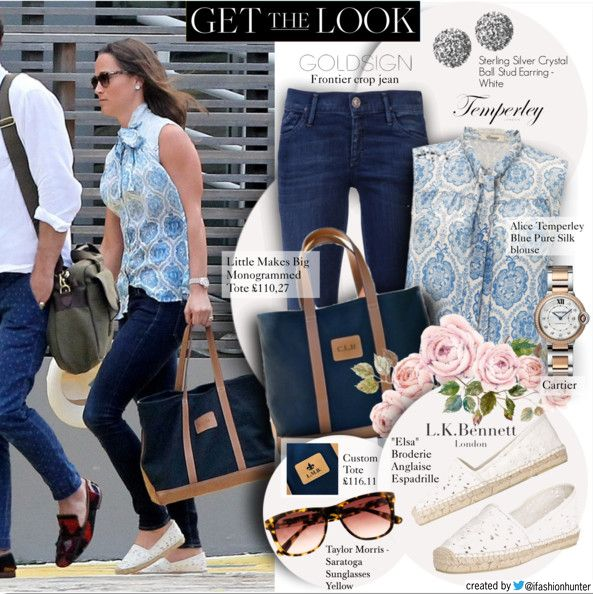 Get the look of Pippa Middleton | January 8, 2016 -