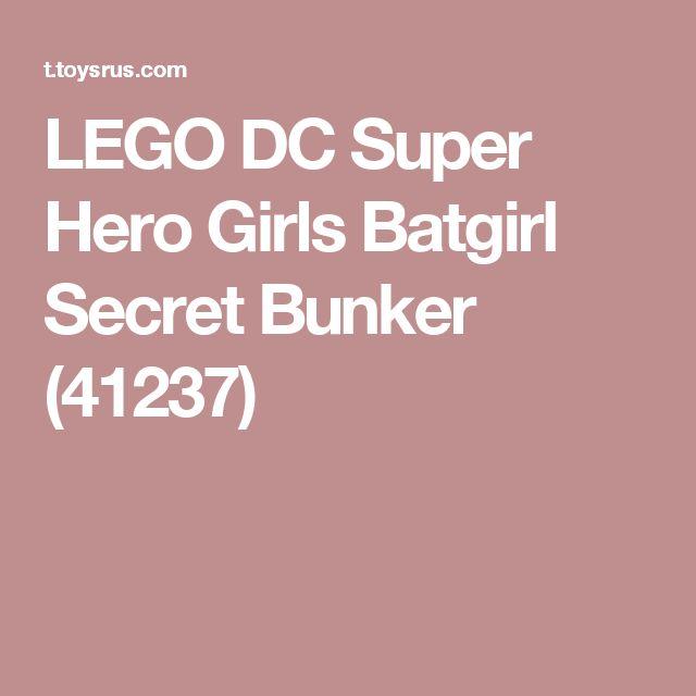 LEGO DC Super Hero Girls Batgirl Secret Bunker (41237)