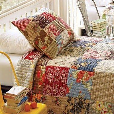 Decoracion – Decoradoras Decocasa » Dormitorios: Cubrecamas de patchwork