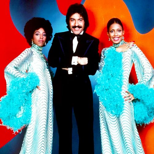 "Tony Orlando and Dawn Show. A pop music group from New York City. Very popular in the 1970s. Their signature hits were ""Candida"", ""Knock Three Times"",""Tie a Yellow Ribbon 'Round the Ole Oak Tree"", and ""He Don't Love You (Like I Love You)""."