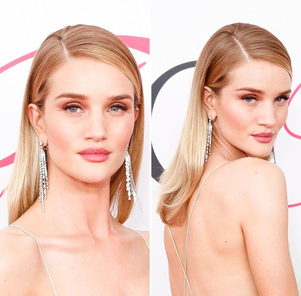 FSleek & Straight Hair — How To Fight Frizz Like Rosie Huntington-Whiteley At CFDAs