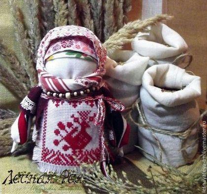 Народные куклы ручной работы. Ярмарка Мастеров - ручная работа Кукла-оберег Крупеничка. Handmade.