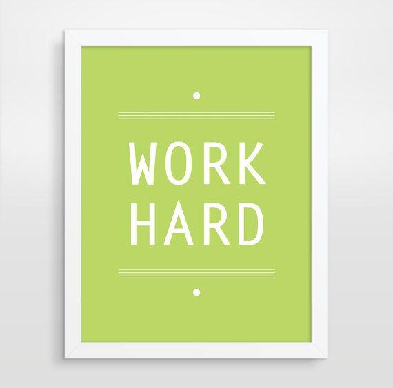 modern office decor inspirational art print motivational