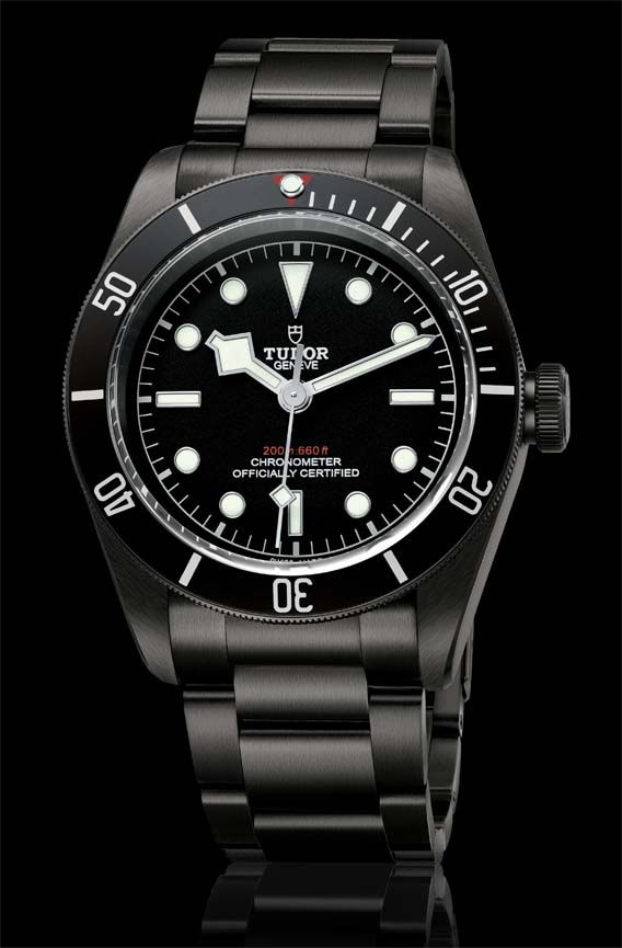 La Cote des Montres : La montre Tudor Heritage Black Bay Dark - Un élément d'équipement tactique, à vocation fonctionnelle et furtive