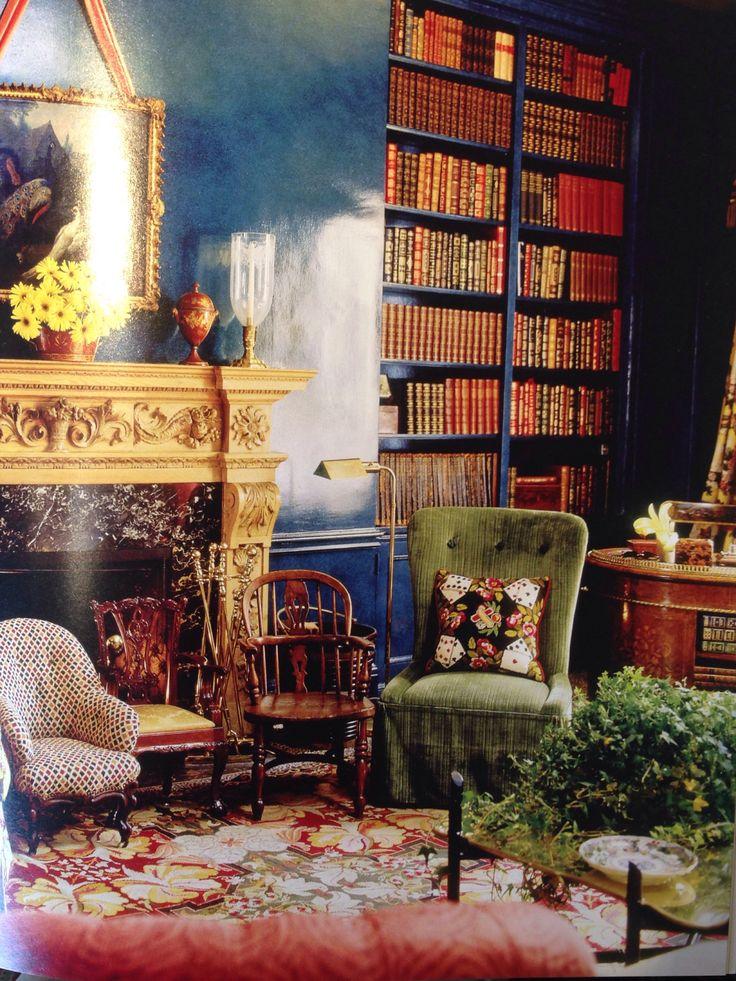 219 best images about mario buatta the prince of chintz for Rich colors for living room