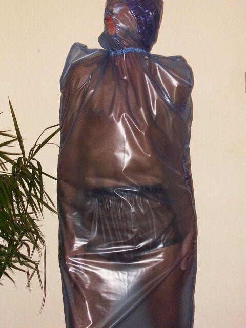 Bondage plastic bag compassionate
