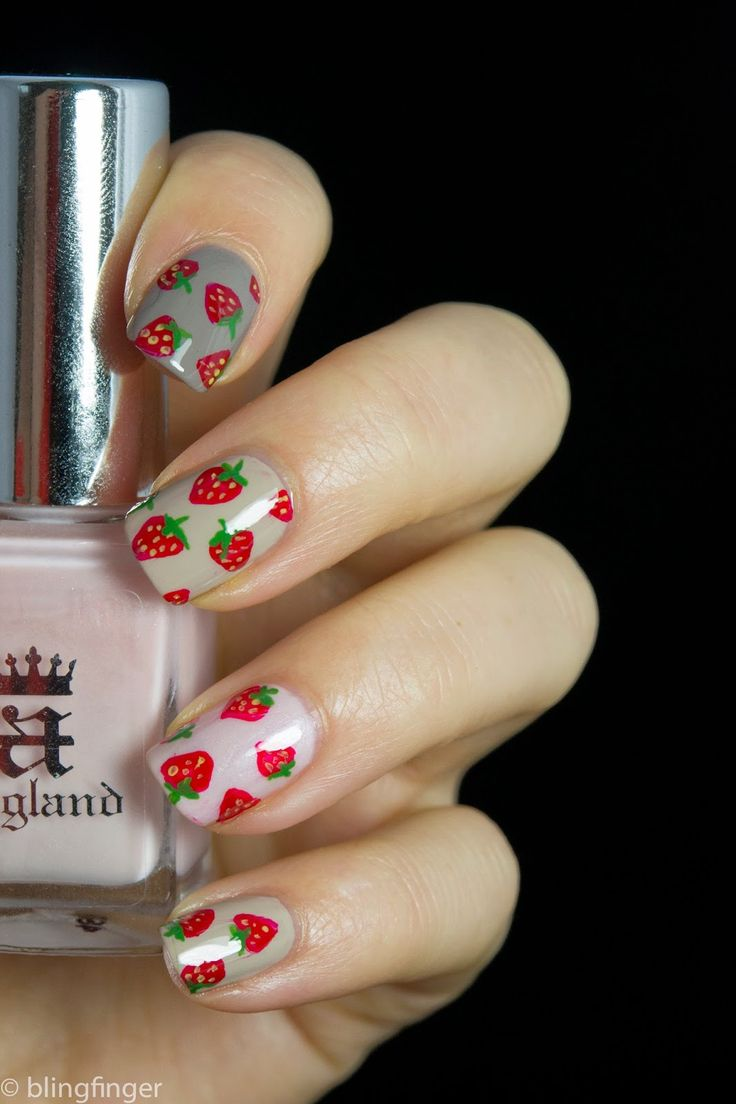 The 25 best strawberry nail art ideas on pinterest nail designs the 25 best strawberry nail art ideas on pinterest nail designs spring fruit nail designs and nails for january prinsesfo Gallery