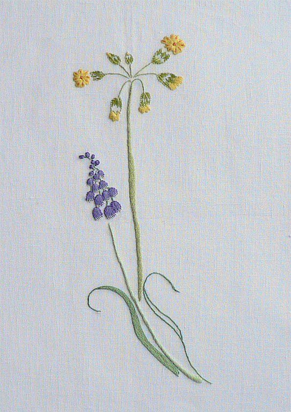 Field Flowers Alphabet - J
