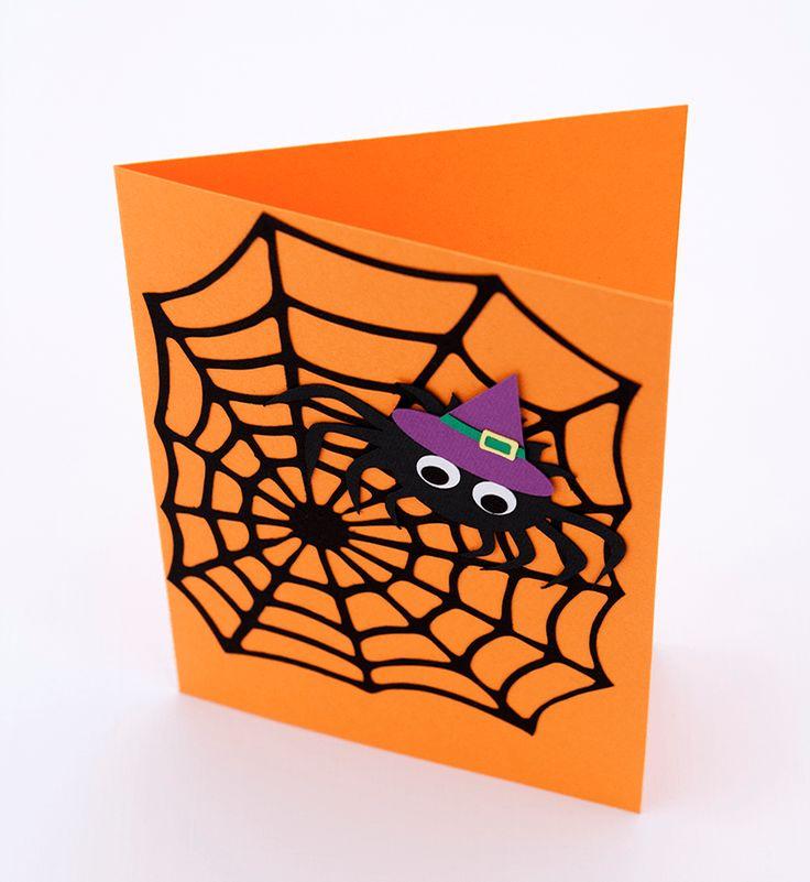 Felicitare Paianjen Halloween #Halloween