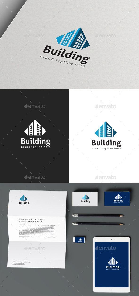 Building Logo Template Vector EPS, AI #logotype Download: http://graphicriver.net/item/building-logo/10286058?ref=ksioks