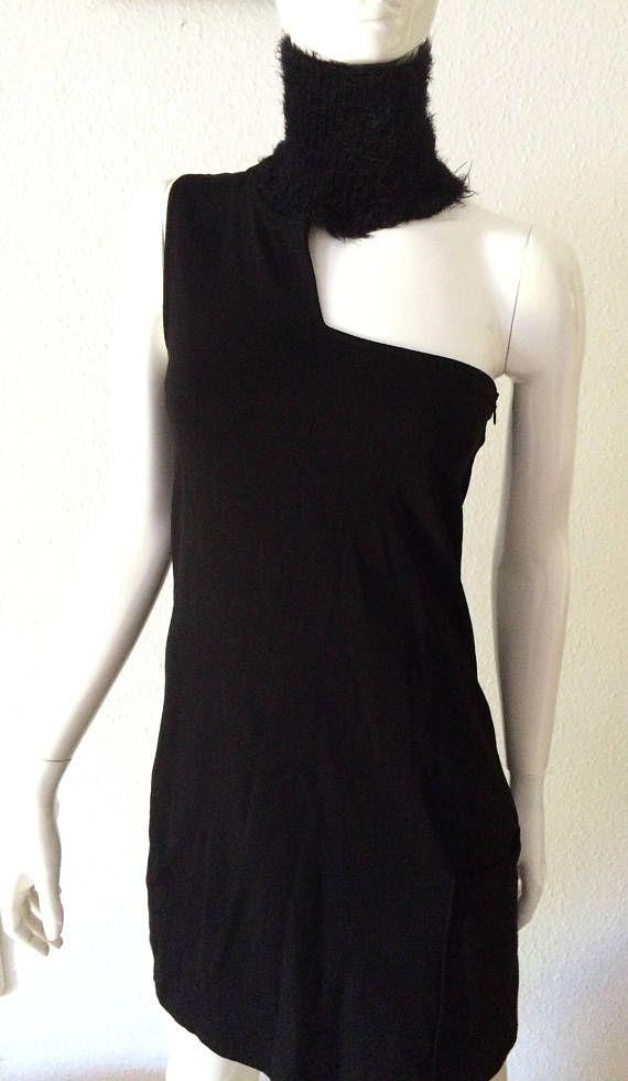 Woman vintage Denny Rose black dress size M