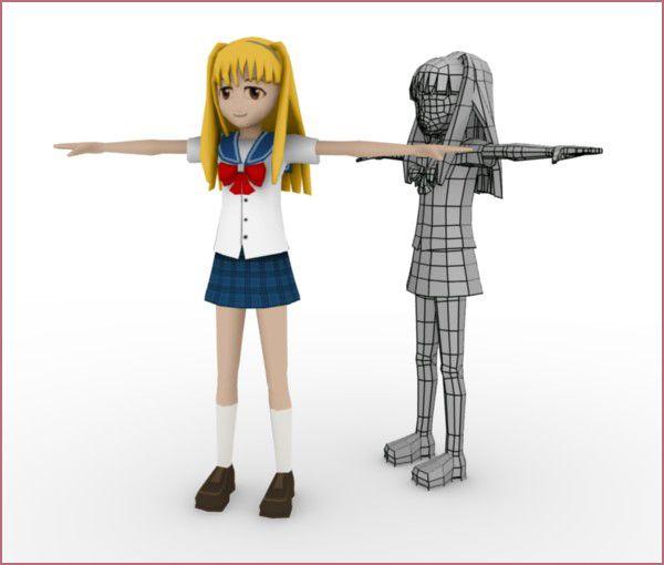 Blender 2 6 Character Modeling Tutorial : Best blender d anime tutorials images on pinterest