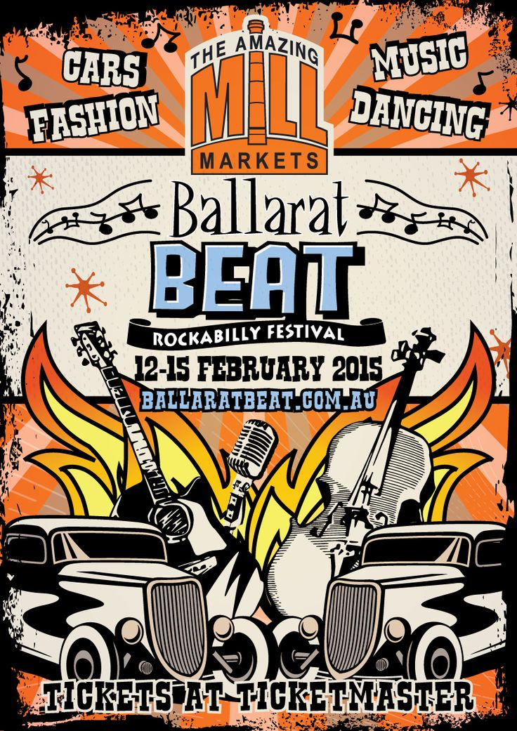The Amazing Mill Markets Ballarat Beat Rockabilly Festival is on this weekend.